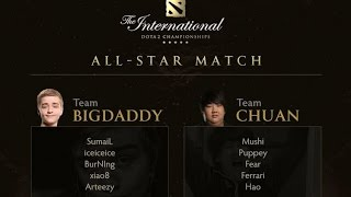 dota 2 ti5 all star showmatch team bigdaddy vs team chuan rus