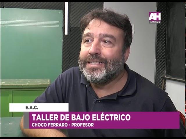 CHOCO FERRARO   TALLER DE BAJO ELECTRONICO EN LA EAC