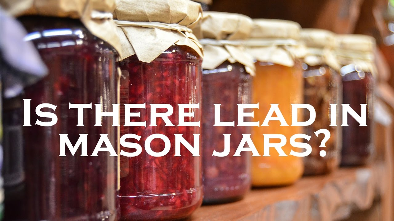 Is There Lead in Mason Jars? (Facebook Live Re-Broadcast)