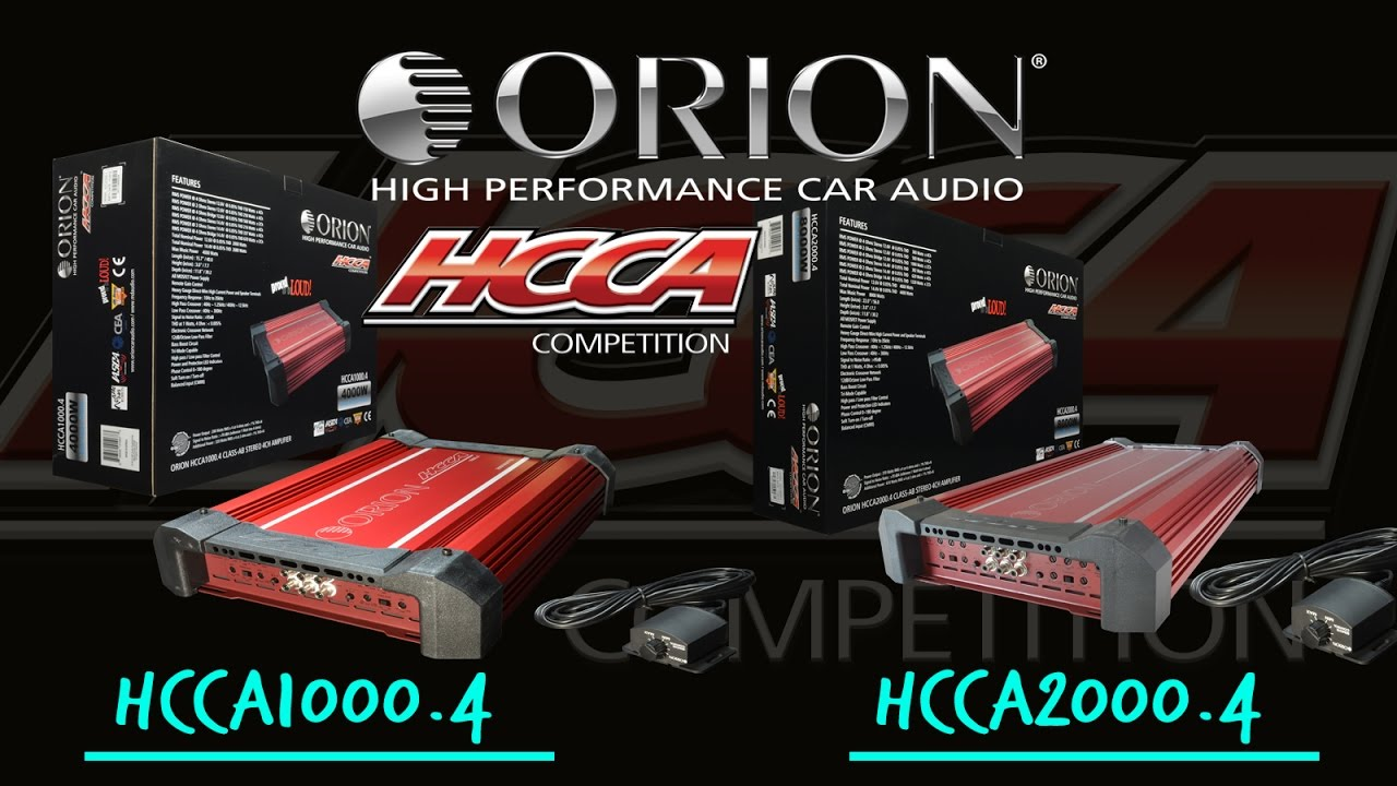 Orion HCCA1200.2 Competition Series 2-Channel Amplifier
