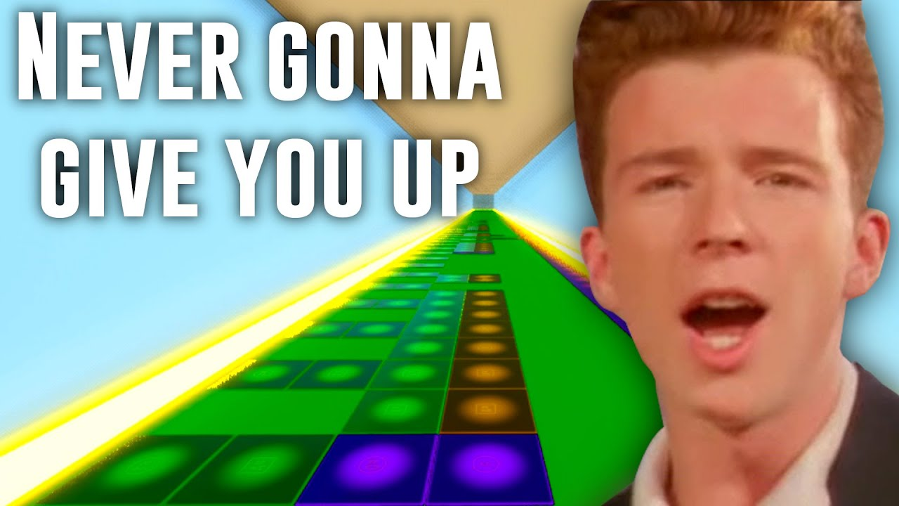 Rick Astley Never Gonna Give You Up Fortnite Music Blocks With Code Youtube