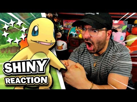 HYPE SHINY CHARMANDER REACTION | Pokemon Let's Go Pikachu & Eevee! thumbnail