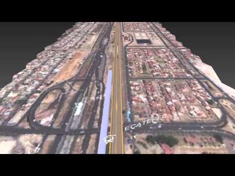 Tren Rápido México DF - Puebla. (250 km/h) Tramo México-Apan