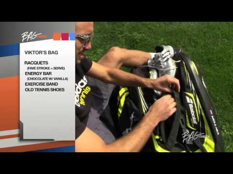 Viktor Troicki Bag Check
