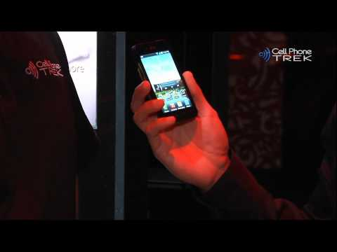 LG Optimus Black Hands-On @ LG CES 2011 Event