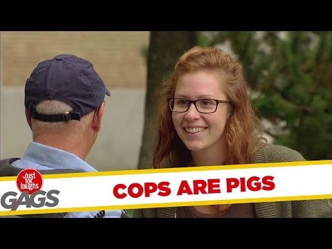 'Cops are Pigs' Gag