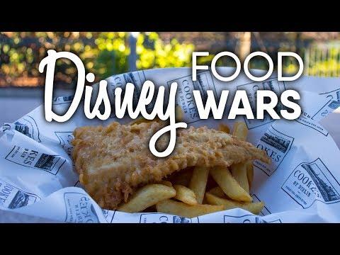 Disney Dining | Yorkshire County Fish Shop Vs Cooks Of Dublin | Disney Food Wars (Episode 4)