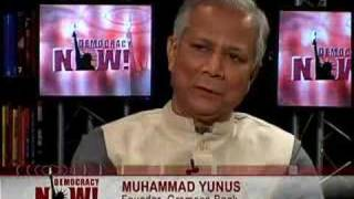 Mohammed Yunus on microcredit-2/3