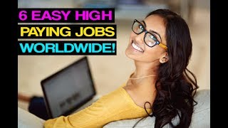6 BEST EASY HIGH PAYING JOBS ONLINE! (WITHOUT A DEGREE!)