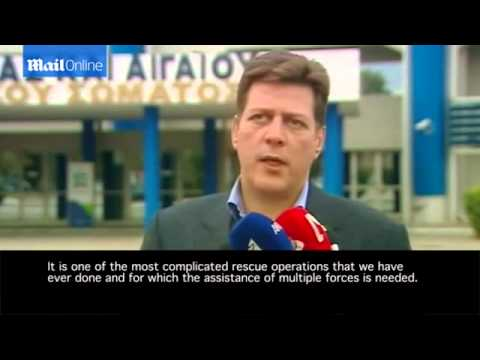 Greek shipping minister on the burning ferry rescue mission