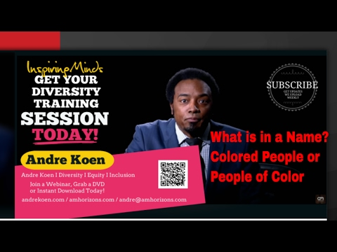 POC: People of Colors or Colored People