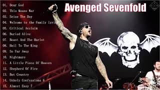 A 7 X Greatest Hits Full Album - Avenged Sevenfold Greatest Hits Full Album