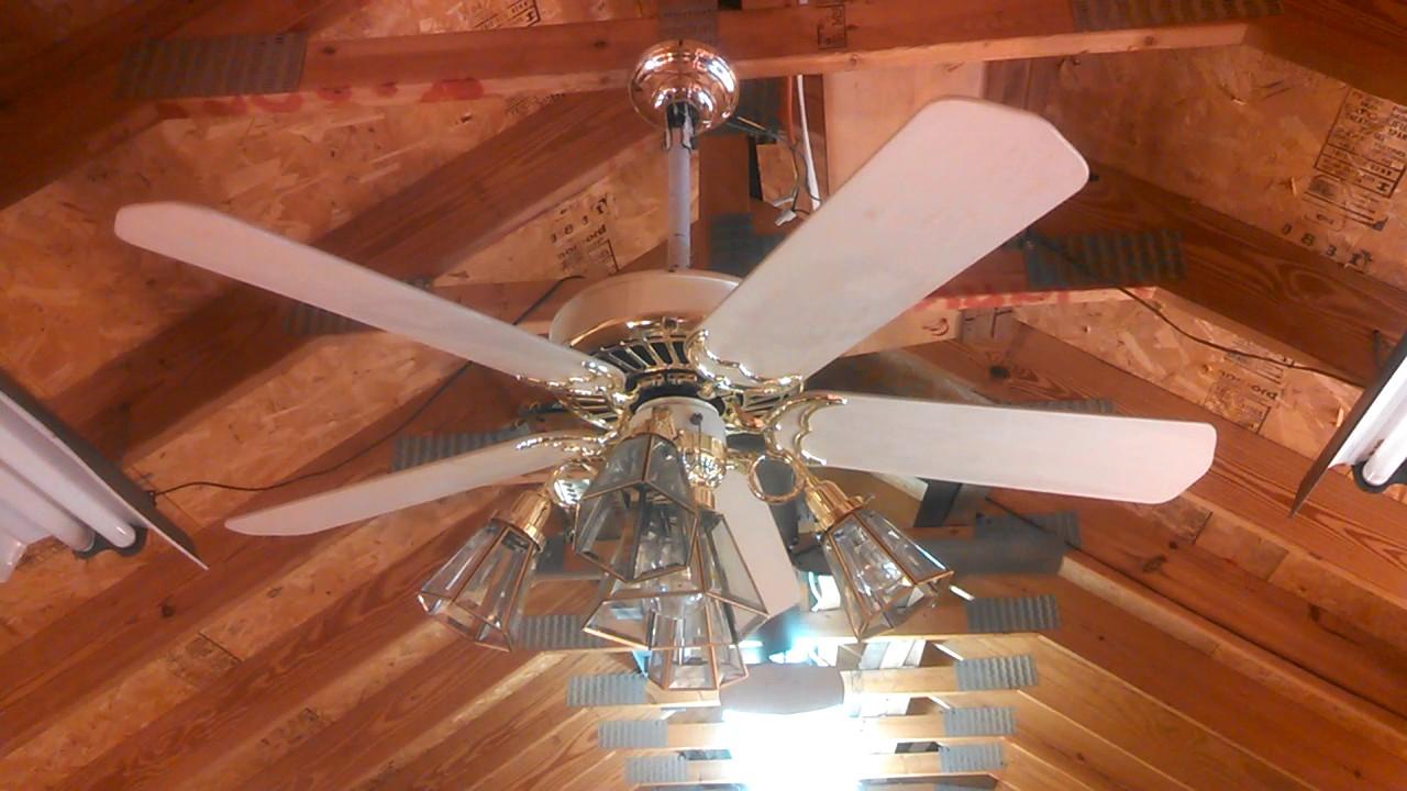Casablanca Delta Ii Ceiling Fan With Washed Oak Blades