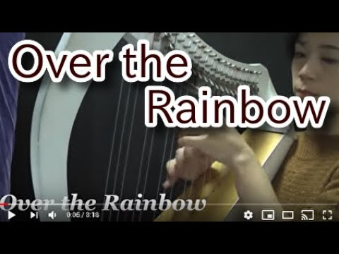 No Over the Rainbow for Celtic harp