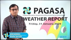 Public Weather Forecast Issued at 4:00 AM January 31, 2020