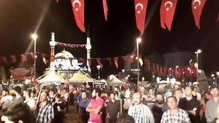 Kayseri Cumhuriyet Meydanı Demokrasi Nöbeti 9 Ağustos 2016 01 00