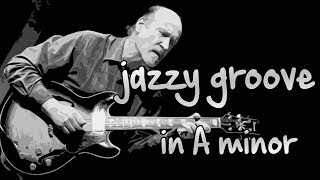 Jazzy Groove Backing Track in A minor