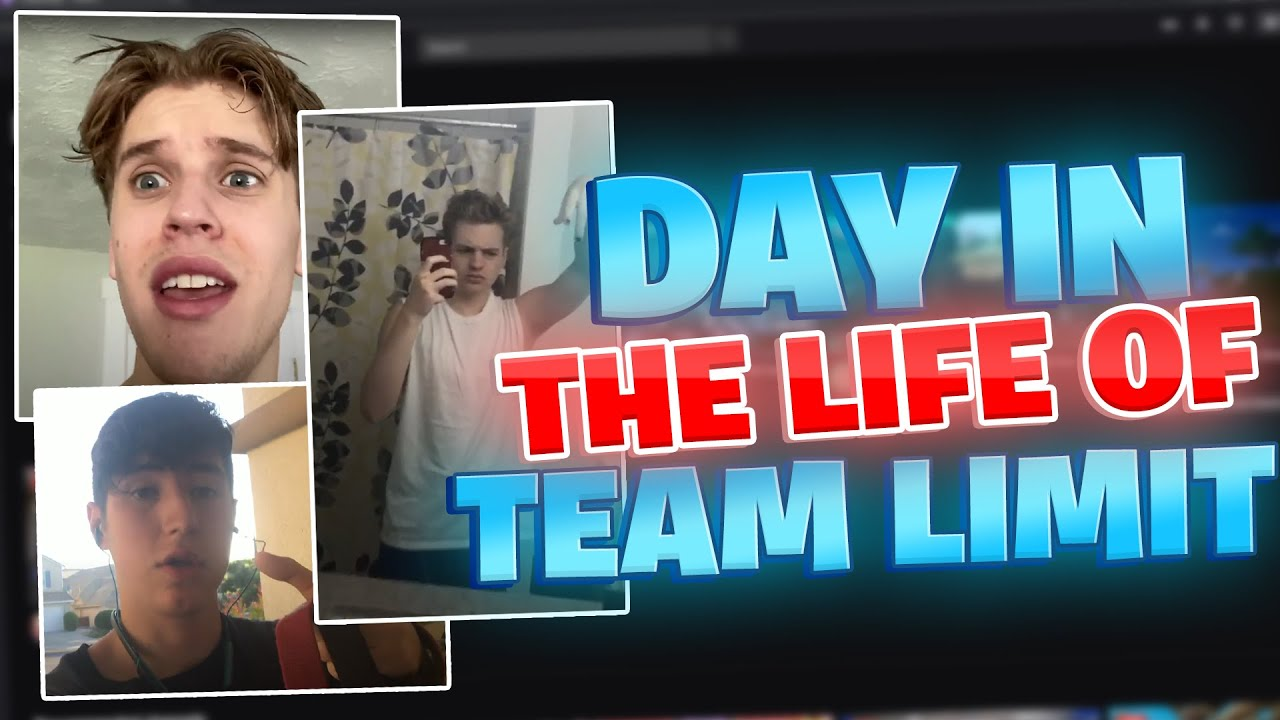 A Day In The Life Of Team Limit Members! *Entertaining*