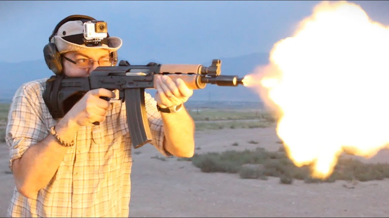 The Awesome M85 AK Pistol with SB-47 Stabilizing Brace