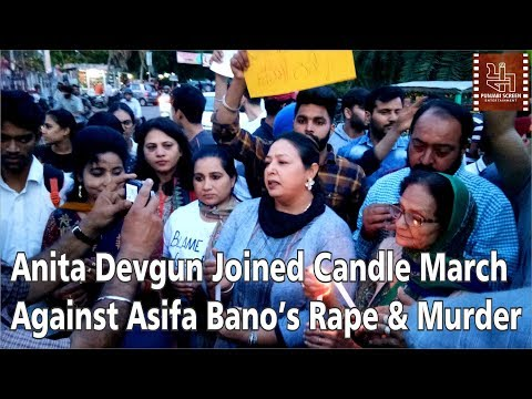 Candle March By Artists of Amritsar Against Asifa Bano's Rape & Murder