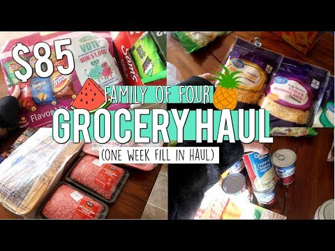 one-week-grocery-haul-for-family-of-four-|-walmart-grocery-pickup