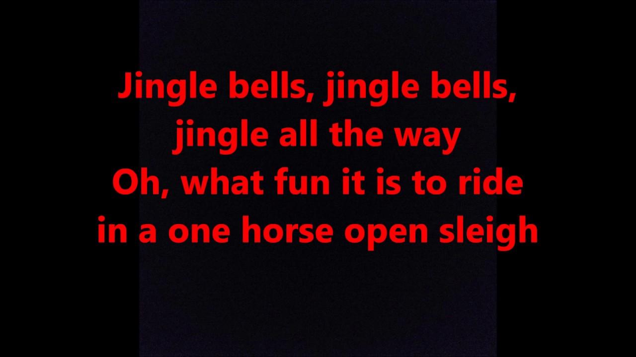 JINGLE BELLS words lyrics CHRISTMAS best top popular favorite trending sing along song songs ...