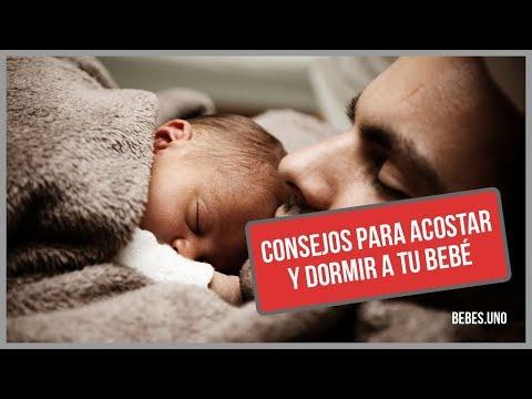 Los mejores consejos para acostar y dormir a un bebé