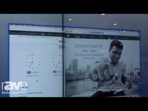 InfoComm 2016: T1V Shows ThinkHub Touch Control for AirConnect