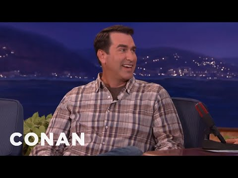 Former Marine Rob Riggle Could Kill Conan & Andy Very Easily  - CONAN on TBS