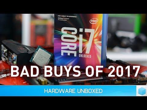 The Worst CPU & GPU Purchases of 2017