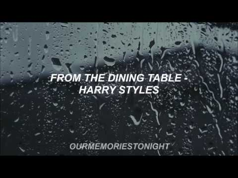 From The Dining Table Harry Styles Lyrics
