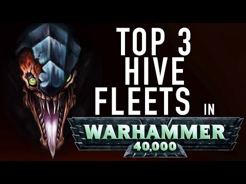 40 Facts And Lore On The Major Tyranid Hive Fleets In Warhammer 40K