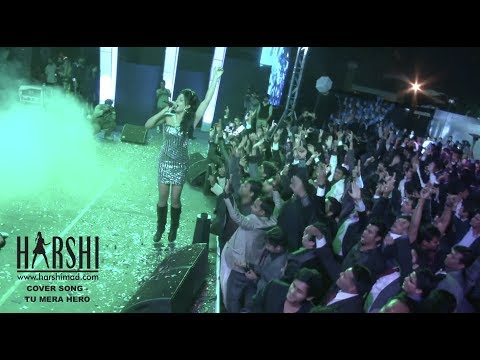 Tu Mera Hero - Harshi Live In A MAD Concert For Collabera - Originally By Mika Singh
