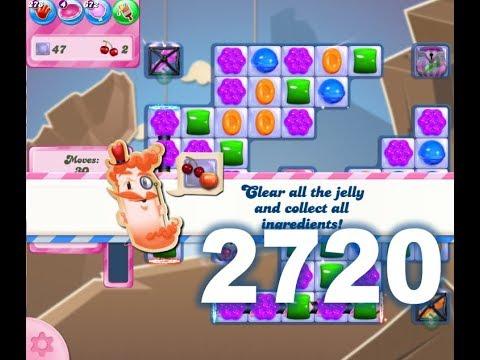 Candy Crush Saga Level 2720 (3 stars, No boosters)