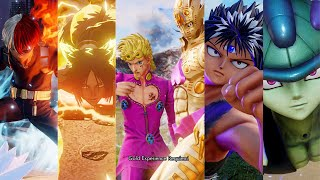 ALL Jump Force DLC Characters Ultimate's & Transformations On PlayStation 5 (4k)
