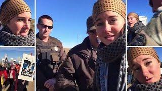 بالفيديو.. اعتقال ممثلة هوليودية أثناء بثها المباشر عبر فيسبوك