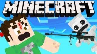 Minecraft - STUPID SNIPER SKELETON
