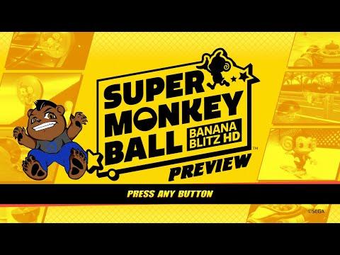 Beast Previews Super Monkey Ball Banana Blitz HD |