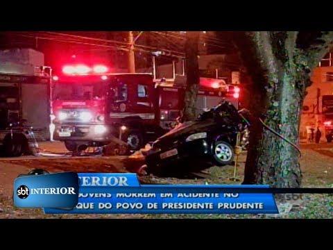 Acidente em avenida de Presidente Prudente mata dois homens