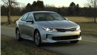 2017 Kia Optima Plug-In Hybrid Test Drive Video Review