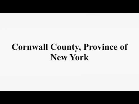Cornwall County, Province of New York