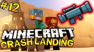 """Murder and EXPLOSIONS!"" Minecraft - Crash Landing Modded SMP - EP #12 w/ JeromeASF and Modii101!"