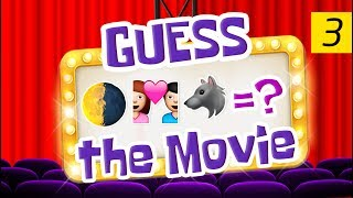 Can You Guess All The Movies? | Emoji Challenge 3 😃
