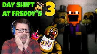 LET'S HOPE I DON'T GET DEMONETIZED... | Day Shift at Freddy's 3 (Livestream)