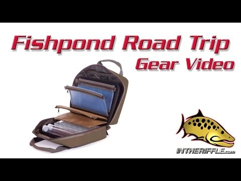 Fishpond Road Trip Fly Tying Travel Bag