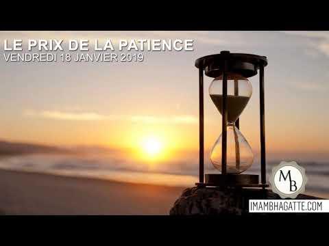 « Le prix de la patience » – 18/01/2019