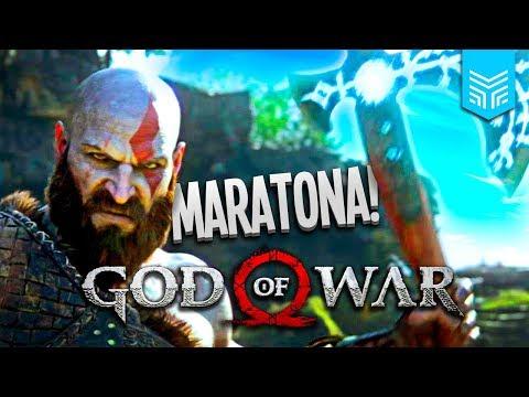 MARATONA GOD OF WAR: ATÉ ZERAR! (Parte 2) | Enemy Play