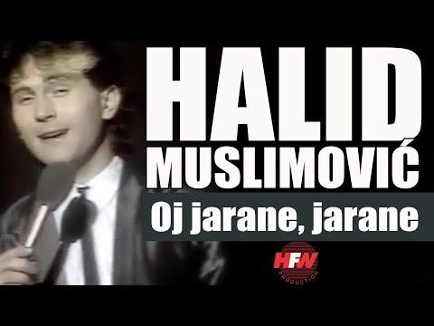 Halid Muslimovic - Oj  jarane, jarane - Tv Poster - (RTB 1986)