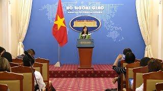Họp báo thường kỳ Bộ Ngoại giao (12-10-2017)