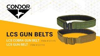 Condor LCS Cobra Gun and LCS Gun Belt